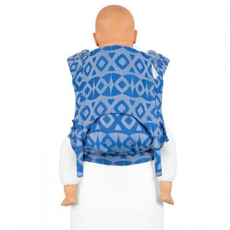 Fidella Fly Tai Night Owl soft blue (size-toddler) - Porte-bébé Meï-taï