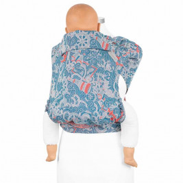 Fidella Fly Tai Sea Anchor maritime blue (size-toddler) - Porte-bébé Meï-taï