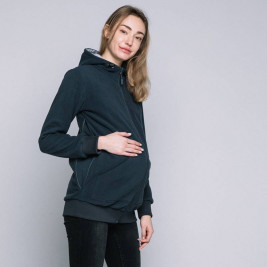 Love and-Carry Jacket pregnancy and portage dark Grey