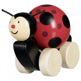 Push along animal, ladybird Filie