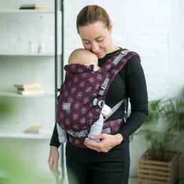 Love and Carry ONE Sangria - Porte-bébé physiologique