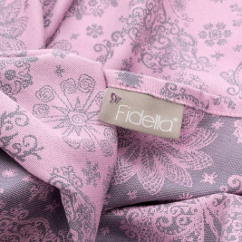 Fidella Wrap Iced Butterfly violet and grey 460 cm size 6