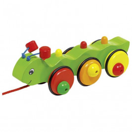 Goki Caterpillar animal to draw Wilma - wooden toys