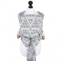 Fidella Fly-Tai Tri-cubes rocher délavé (Taille Bébé) - Porte-bébé meï-taï