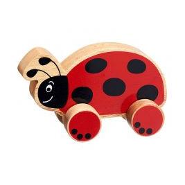 Ladybug wheel wooden Lanka Kade