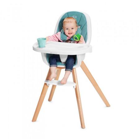 Kinderkraft Chaise Haute B/éb/é TIXI R/églable Rose Imperm/éable Chaise Enfant