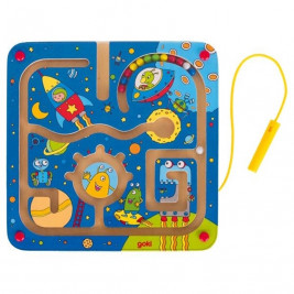 Goki Maze magnetic in space