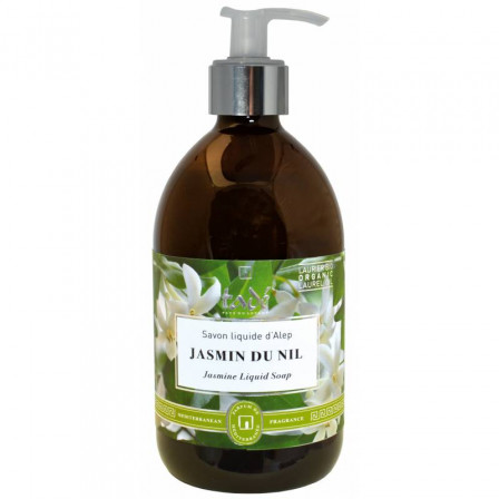 Liquid soap of Aleppo to the jasmine of the Nile Tadé