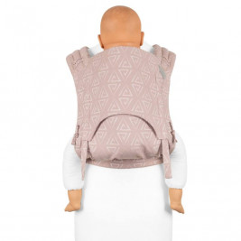 Fidella Fly Tai Paperclips Frêne rose (taille bambin) - Porte-bébé Meï-taï