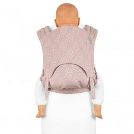 Fidella Fly Tai Paperclips Ash pink (size-toddler) - Porte-bébé Meï-taï