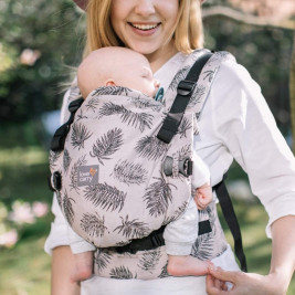 Love and Carry ONE + Tropics-organic cotton - baby-carrier physiological