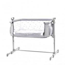 Kinderkraft Neste Grey - Bed of co-sleeping