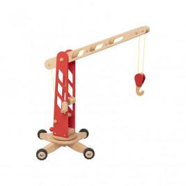 Goki Grue de chantier- Jouet en bois