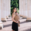 Love And Carry Almond - Écharpe de portage extensible