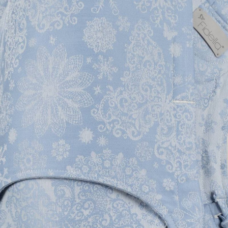 Fidella Fly Tai Iced Butterfly Bleu Clair taille Bambin mei-tai