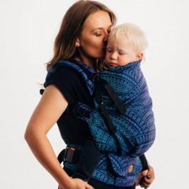 LennyLamb LennyPreschool PEACOCK'S TAIL PROVANCE Jacquard Toddler Carrier