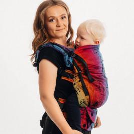 LennyLamb LennyPreschool Symphony Rainbow Dark Toddler Carrier