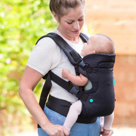 Infantino Flip Advanced Denim black - baby carriers-Scalable