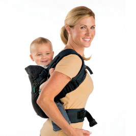 Infantino Flip Advanced Denim noir - Porte-bébé Évolutif