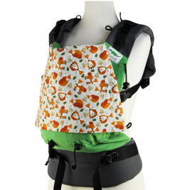 Buzzidil XL Happy Foxes baby carrier preformed