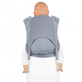 Fidella Fly Tai Lines Light Blue - (size-toddler) - Porte-bébé Meï-taï