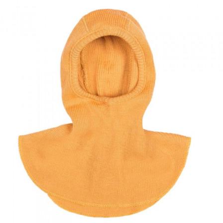 Manymonths Golden Oat - Cagoule bébé pure laine mérinos