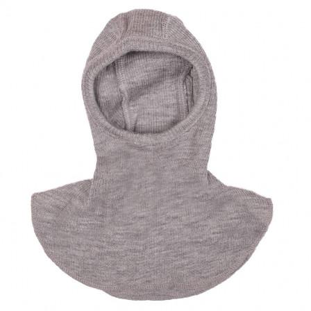 Manymonths Silver Cloud - Hooded baby pure merino wool