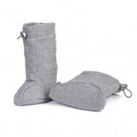 Naturioù slippers portage Softshell Grey Melange