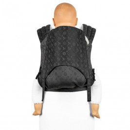 Fidella FLY TAI - MEI TAI BABY CARRIER - SAINT TROPEZ - CHARMING BLACK - TODDLER