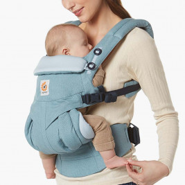 Ergobaby Omni 360 Sky Blue Stripes-4 Position Scalable Baby Carrier