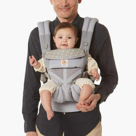 Ergobaby Omni 360 Cool Air Mesh Dewy Taupe (Limited Edition) - 4 Position Scalable Baby Carrier