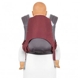 Fidella FLY TAI - MEI TAI BABY CARRIER - Lignes Rouge - TODDLER