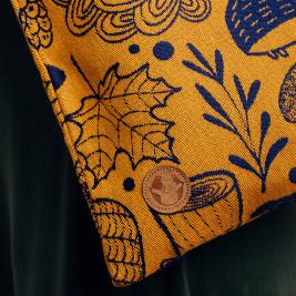 Lennylamb Tote Bag UNDER THE LEAVES - GOLDEN AUTUMN