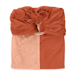 JPMBB Little no-tie Wrap Turquoise - Mottled Grey
