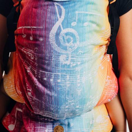 LennyLamb LennyPreschool Symphony Rainbow Light - Porte-enfant