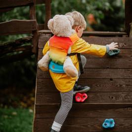Lennylamb Rainbow Baby Doll Holder