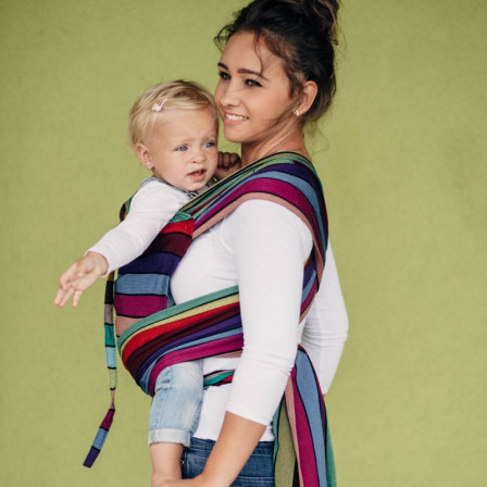 Lennylamb Wrap-Tai Toddler Carousel of colors