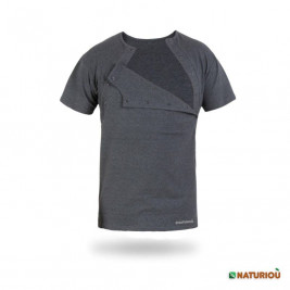 Naturioù T-shirt skin to skin for men