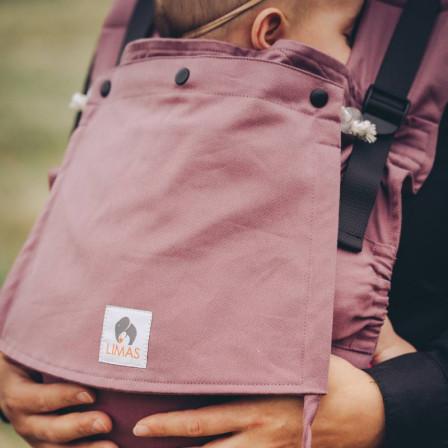 Limas Flex Blush porte bébé physiologique en coton bio
