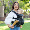Ergobaby Omni 360 Cool Air-Mesh Blue-Black - baby-carrier Expandable 4 Positions