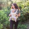 Ergobaby Omni 360 Cool Air Mesh Naturel - Porte-bébé Évolutif 4 Positions