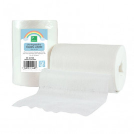 Roll of 100 disposable liners - Tots bots