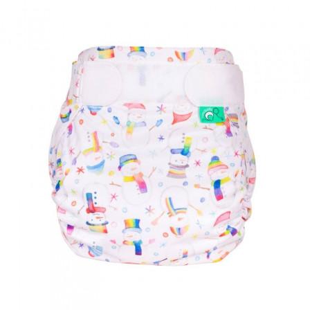 Totsbots PeeNut TE2 Snowbaby couche lavable Taille 2