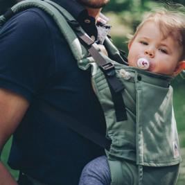 Limas Flex Jade porte bébé physiologique en coton bio