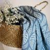 Limas Valerie Dark Mint - Écharpe de portage tissée en coton bio 460 cm