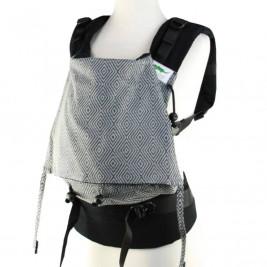 Buzzidil Evolution Diamond Dust Argento porte-bébé XL