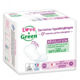 Love and green guard slips hypoallergenic
