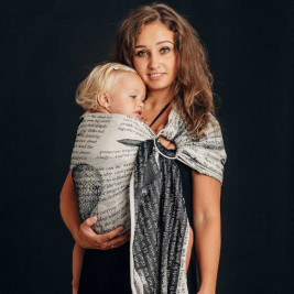 Lennylamb Sling Flying Dreams - baby carrier Sling