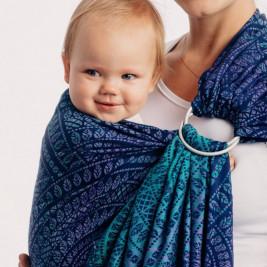 Lennylamb Sling eacock's Tail Provance - baby carrier Sling