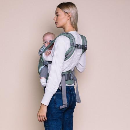 Love and Carry AIR X Bergamot - Porte-bébé physiologique